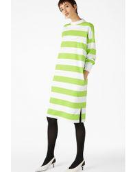 Monki - Oversize Sweater Dress - Lyst