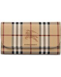 Harris Haymarket Wallet in Mid Camel Synthetic Material Burberry y80Gi
