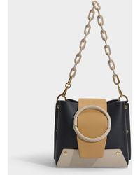 285c4530f0 Lyst - Dolce & Gabbana Women's Borsa A Mano Chain Handle Raffia ...