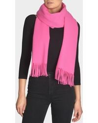 Acne Studios - Canada Narrow New Scarf In Neon Pink Wool - Lyst
