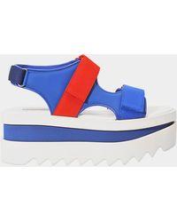 Stella McCartney - Platform Sandal - Lyst