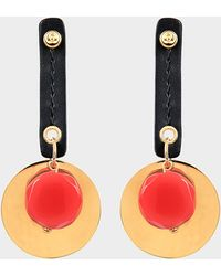 Marni - Earrings With Cabochon - Lyst
