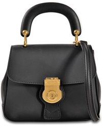 Burberry - Dk88 Small Bag In Trench Leather - Lyst