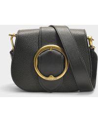 Polo Ralph Lauren - Lennox Belt Crossbody Bag Medium Black - Lyst