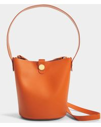 Sophie Hulme - The Swing Bag In Clementine Cow Leather - Lyst