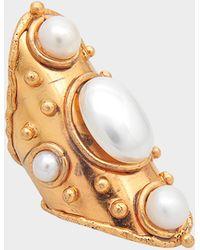 Sylvia Toledano - Byzance Pearls Ring - Lyst