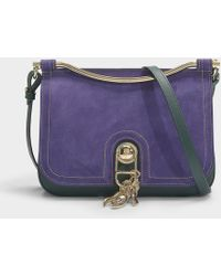 Carven - Misti Large Bag In Spinach Calfskin - Lyst