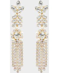 Shourouk - Marquise Earrings - Lyst