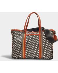 Pierre Hardy - Polycube Tote In Multicolor Canvas - Lyst
