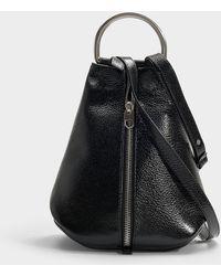 Proenza Schouler - Greenical Zip Backpack In Black Calfskin - Lyst