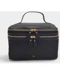 Anya Hindmarch - Vanity Kit In Black Nylon With Capra Trim - Lyst