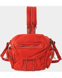 Alexander Wang - Marti Mini Convertible Leather Backpack - Lyst