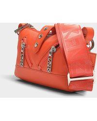 KENZO - Kalifornia Mini Shoulder Bag In Red Calfskin - Lyst