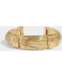 Aurelie Bidermann - Thalia Bracelet In Gold Metal - Lyst