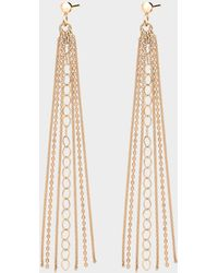Ginette NY - Unchained Long Earrings - Lyst