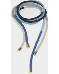 Marni - Beads Necklace In Tea Green Resin - Lyst