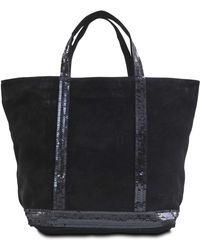 Vanessa Bruno - Medium Tote Leather Sequins - Lyst