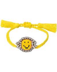 Shourouk - Happy Face Bracelet - Lyst