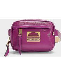 Marc Jacobs - Sport Belt Bag In Rhubarb Calfskin - Lyst