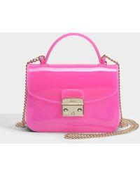 Furla - Candy Meringa Mini Crossbody Bag - Lyst