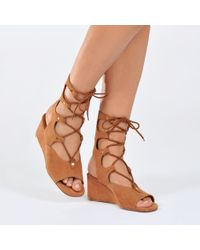 Chloé - Foster Edge Lace-up - Lyst