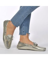 Tod's - Heaven Driving Loafers - Lyst