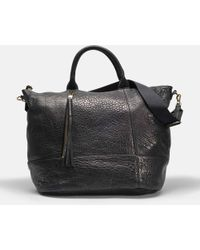 Gerard Darel - Only You Tote Bag In Black Calfskin - Lyst