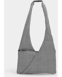 MM6 by Maison Martin Margiela - Japanese Crossbody Bag In Prince De Galles Synthetic Fabric - Lyst