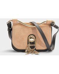 e62f8b2761 Carven - Misti Crossbody Bag In Dune Calfskin - Lyst