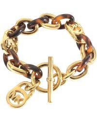MICHAEL Michael Kors - Armband Heritage - Lyst