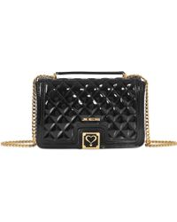 b43a669a02457 Love Moschino Super Quilted Flap Bag - Best Quilt Grafimage.co