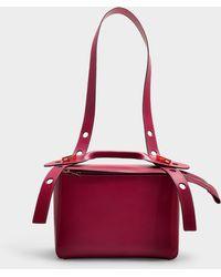 Sophie Hulme - The Bolt Bag In Pink Calfskin - Lyst