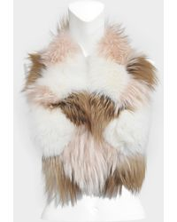 Yves Salomon - Fox And Groundhog Collar - Lyst
