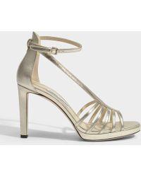 Jimmy Choo - Frederica Platform Sandals - Lyst