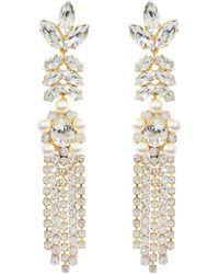 Shourouk - Marquise Earrings - Lyst
