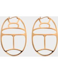 Ginette NY - Large Wish Hoop Earrings - Lyst