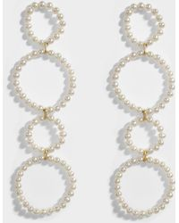 Saskia Diez - Holiday N°3 Mono Earring In 18k Gold-plated Silver With Freshwater Pearls - Lyst