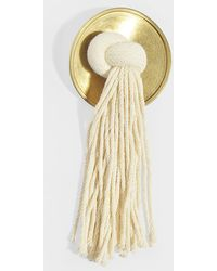Marni - Metal Brooch With Rope In Gold Metal - Lyst