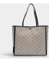 1b82b9811f Lyst - Bottega Veneta New Sand Intrecciato Nappa Tote Bag in Gray