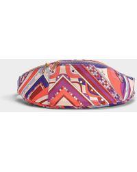 Emilio Pucci - Printed Fanny Pack In Multicolor Nylon - Lyst