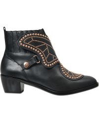 Sophia Webster - Studded Ankle Boots - Lyst