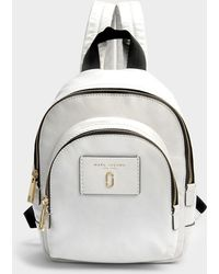 Marc Jacobs Sac à Dos Mini Double Pack Backpack en Cuir Noir IFZEKd