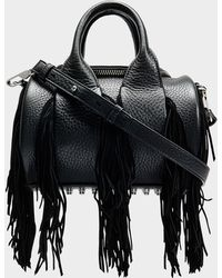 Alexander Wang - Mini Rockie Bag With Fringes - Lyst