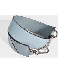 Loewe - Degradee Bag Strap In Stone Blue Multitone Calfskin - Lyst
