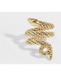 Aurelie Bidermann - Asclepios Ring In Gold Metal - Lyst