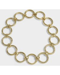 Saskia Diez - Bold Necklace In 18k Gold-plated Brass - Lyst