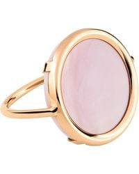 Ginette NY - Ever Pink Mop Disc Ring - Lyst