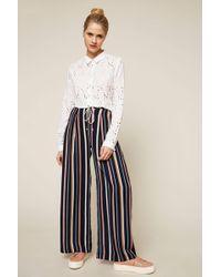 Suncoo - Wide-legged Trousers - Lyst