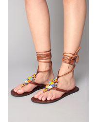 Aspiga - Flat Sandal - Lyst