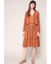 Vero Moda - Mid-length Skirt - Lyst